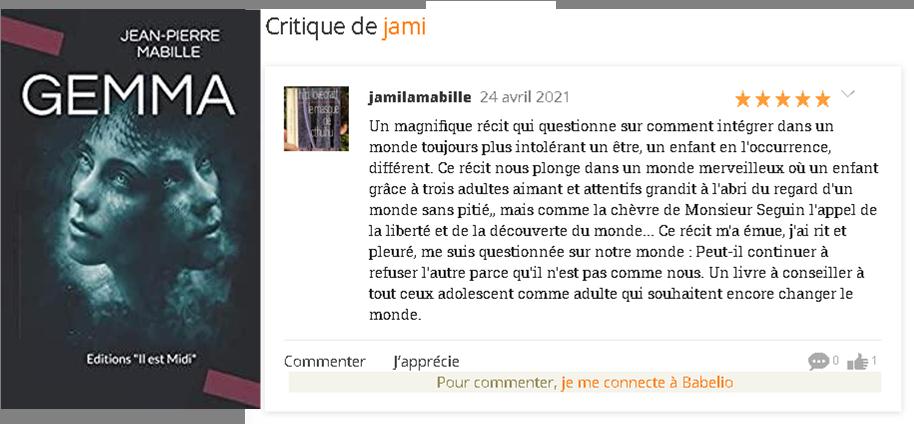 Critique jamie
