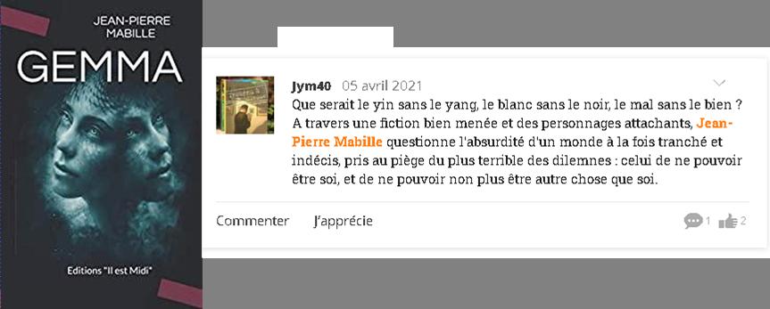 Critique jym40
